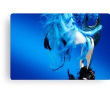 Blue Frey Canvas Print