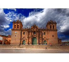 Santo Domingo Cathedral, Cusco, Peru Photographic Print