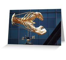 Lobster Compass Greeting Card