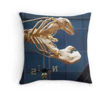 Lobster Compass Throw Pillow