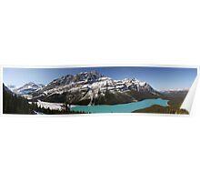 Peyto  Lake/Glacier Poster