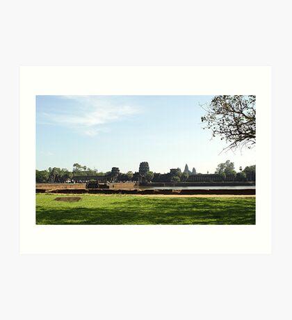 Cambodia. Angkor Wat , Siem Reap 1 Art Print