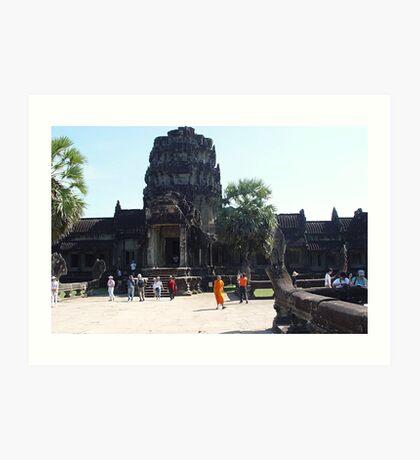 Cambodia. Angkor Wat , Siem Reap 2 Art Print