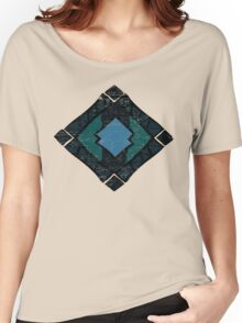Enchanting Abstract Colors and Shapes Women's Relaxed Fit T-Shirt
