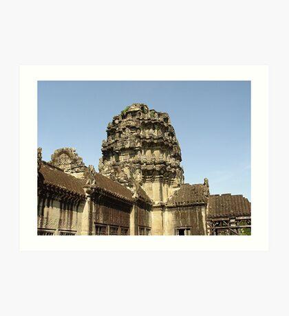 Cambodia. Angkor Wat , Siem Reap 3 Art Print