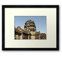 Cambodia. Angkor Wat , Siem Reap 3 Framed Print