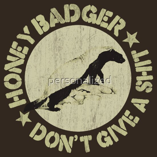 Honey badger dont give a shit - photo#27
