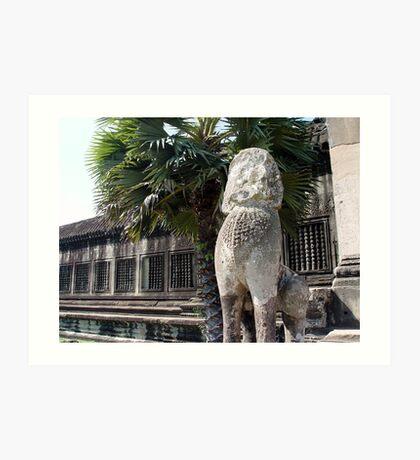 Cambodia. Angkor Wat , Siem Reap 4 Art Print