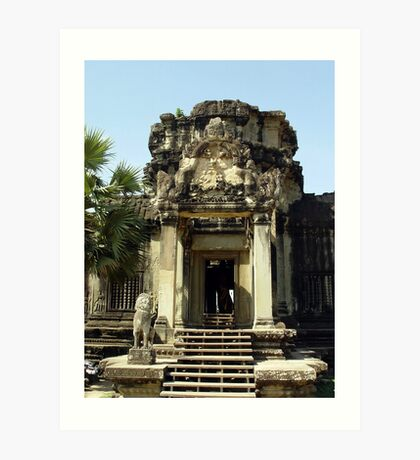 Cambodia. Angkor Wat , Siem Reap 6 Art Print