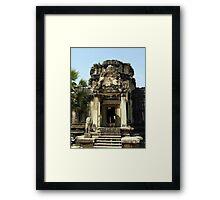 Cambodia. Angkor Wat , Siem Reap 6 Framed Print