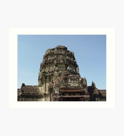 Cambodia. Angkor Wat , Siem Reap 7 Art Print