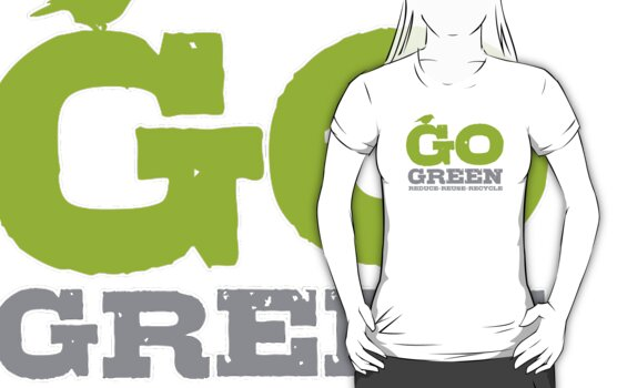 Go Green For Earth Day by Rewards4life