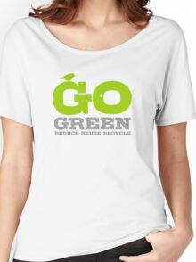 Go Green For Earth Day Women's Relaxed Fit T-Shirt