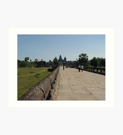 Cambodia. Angkor Wat , Siem Reap 9 Art Print