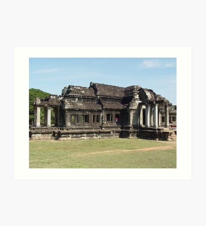 Cambodia. Angkor Wat , Siem Reap 10 Art Print