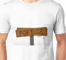 Portage Sign Unisex T-Shirt