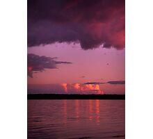 Reflective Sunset... Photographic Print