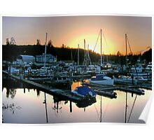 Port Hardy, Vancouver Island, Canada Poster