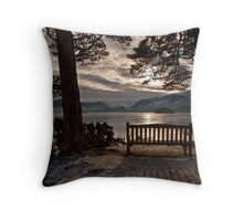Friars Crag, Keswick Throw Pillow