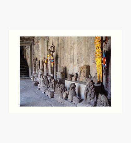 Cambodia. Angkor Wat , Siem Reap 13 Art Print
