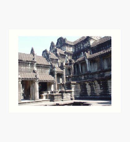 Cambodia. Angkor Wat , Siem Reap 14 Art Print