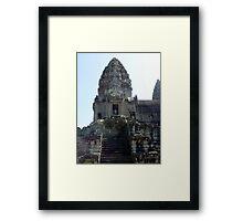 Cambodia. Angkor Wat , Siem Reap 16 Framed Print