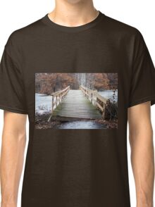 Warped Wooden Bridge Classic T-Shirt