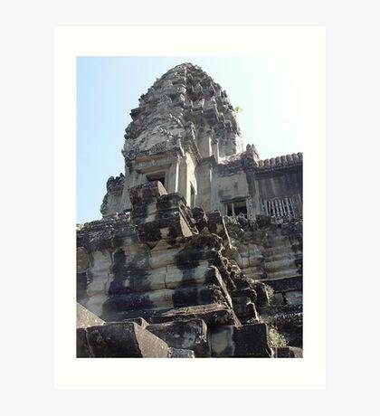 Cambodia. Angkor Wat , Siem Reap 17 Art Print