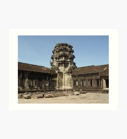 Cambodia. Angkor Wat , Siem Reap 18 Art Print