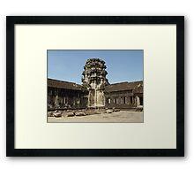 Cambodia. Angkor Wat , Siem Reap 18 Framed Print