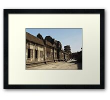 Cambodia. Angkor Wat , Siem Reap 19 Framed Print