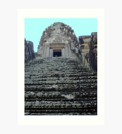 Cambodia. Angkor Wat , Siem Reap 20 Art Print