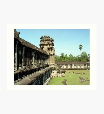 Cambodia. Angkor Wat , Siem Reap 22 Art Print