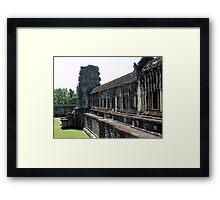 Cambodia. Angkor Wat , Siem Reap 23 Framed Print