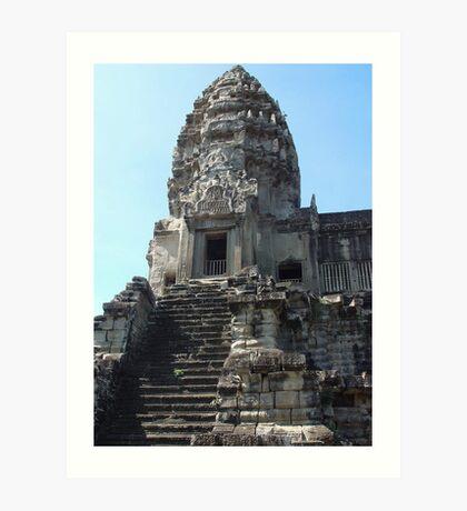 Cambodia. Angkor Wat , Siem Reap 24 Art Print