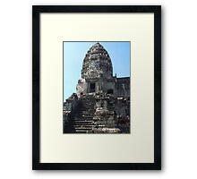 Cambodia. Angkor Wat , Siem Reap 24 Framed Print