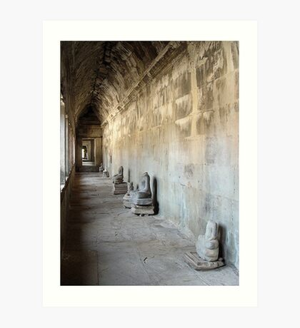 Cambodia. Angkor Wat , Siem Reap 25 Art Print