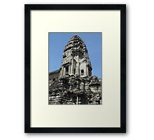 Cambodia. Angkor Wat , Siem Reap 26 Framed Print