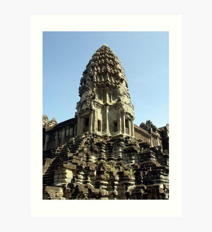 Cambodia. Angkor Wat , Siem Reap 28 Art Print