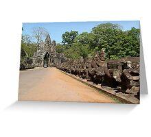 Cambodia. Angkor Wat , Siem Reap 30 Greeting Card