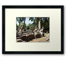 Cambodia. Angkor Wat , Siem Reap 33 Framed Print