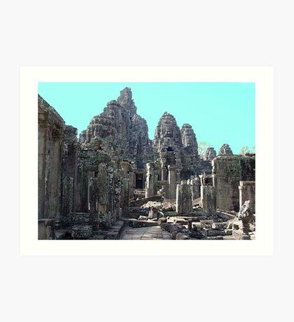 Cambodia. Angkor Wat , Siem Reap 34 Art Print