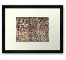 Cambodia. Angkor Wat , Siem Reap 37 Framed Print