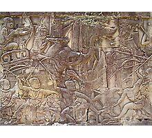 Cambodia. Angkor Wat , Siem Reap 37 Photographic Print