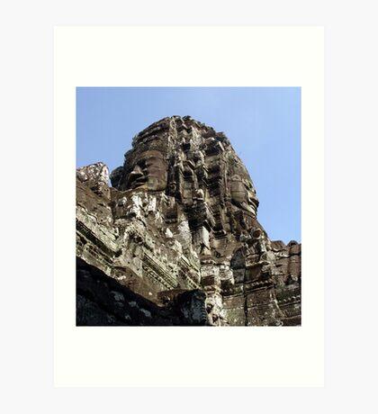 Cambodia. Angkor Wat , Siem Reap 39 Art Print