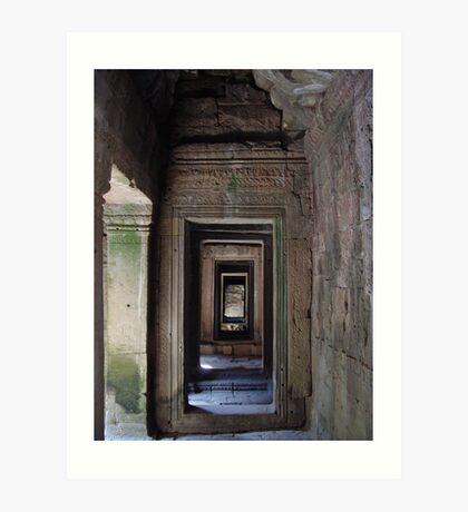 Cambodia. Angkor Wat , Siem Reap 40 Art Print