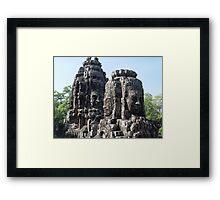 Cambodia. Angkor Wat , Siem Reap 42 Framed Print