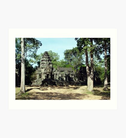 Cambodia. Angkor Wat , Siem Reap 43 Art Print