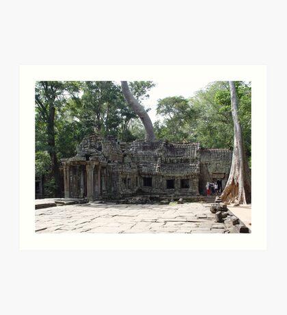 Cambodia. Angkor Wat , Siem Reap 47 Art Print
