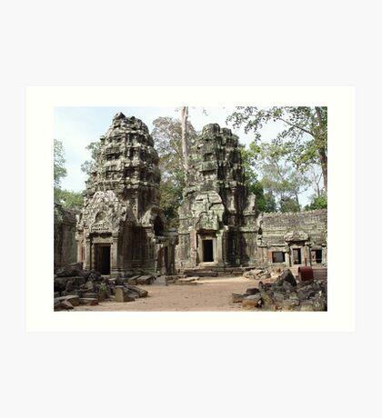 Cambodia. Angkor Wat , Siem Reap 49 Art Print